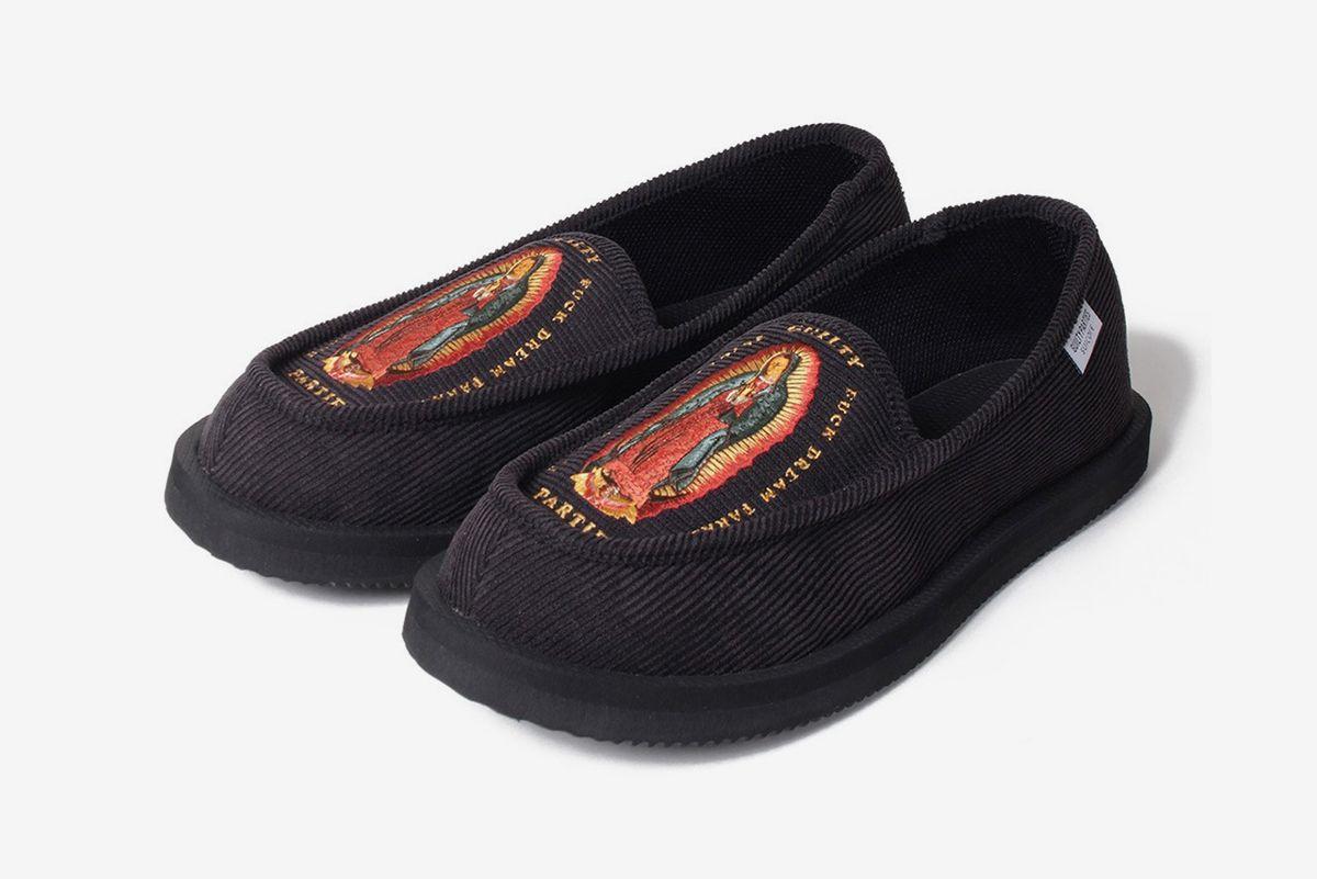 Suicoke & Wacko Maria Keep It Cozy With New Corduroy Slippers