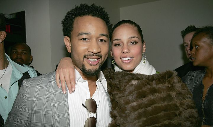 """John Legend and Alicia Keys attend the wrap party for Keys' """"Diary Tour"""""""