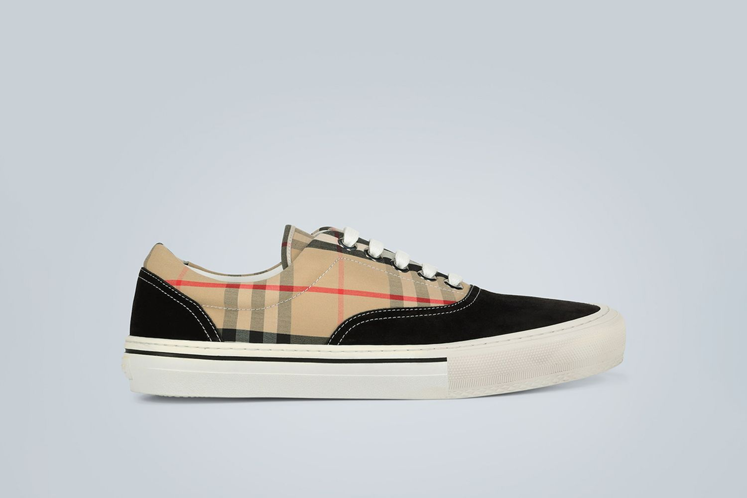 Vintage Check Colorblocked Sneakers