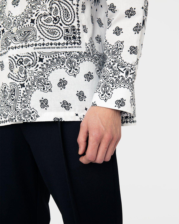 Miyagihidetaka — Bandana Shirt White - Image 7