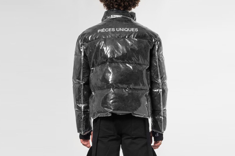 Transparent Puffy Jacket