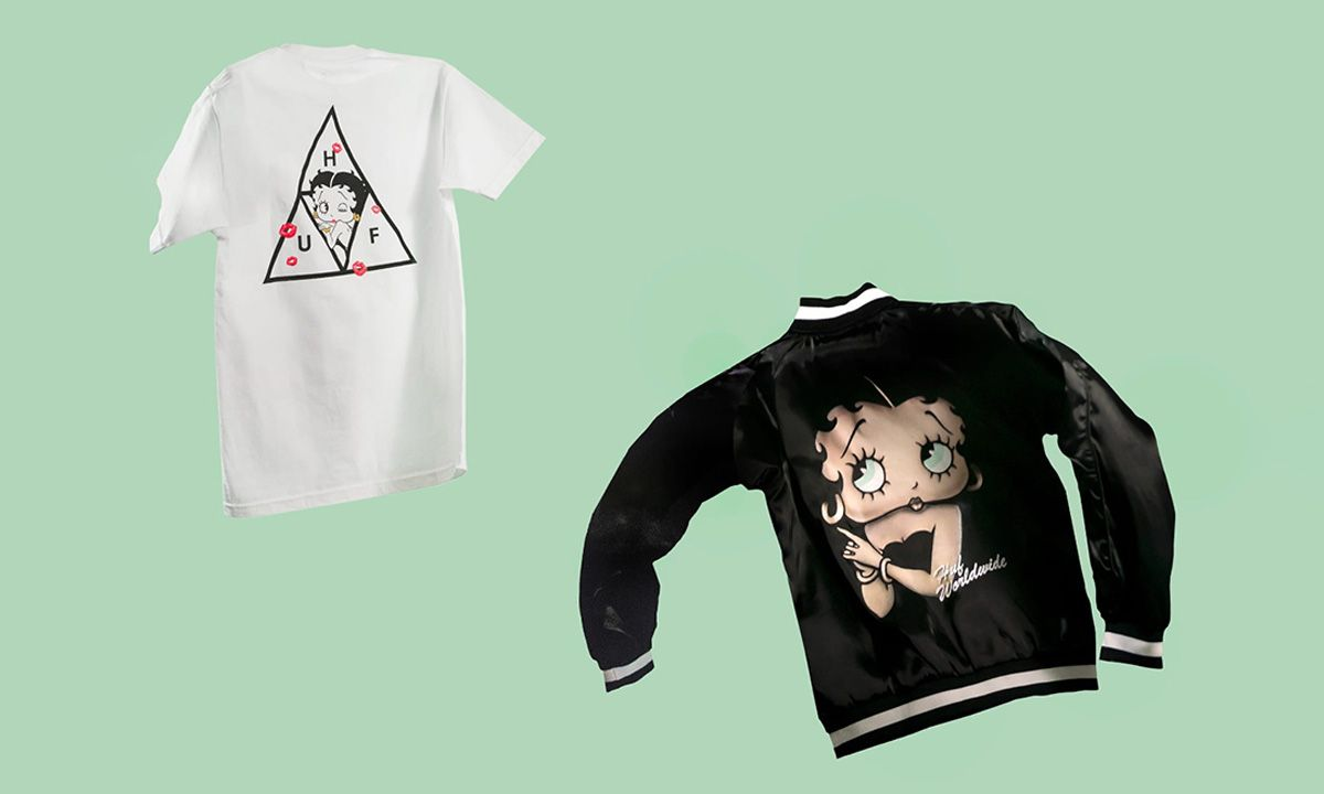 HUF Celebrates Betty Boop in Its Retro-Inflected Capsule