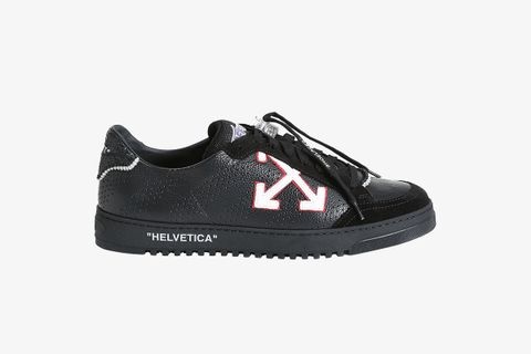 Off-White 2.0 Low-Top Leather Zip Sneakers