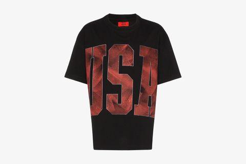 USA Printed T-shirt