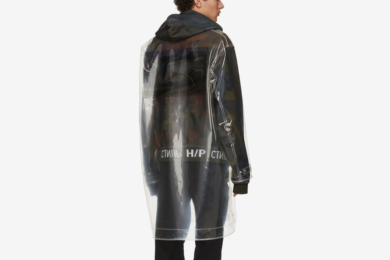 Transparent Rain Jacket