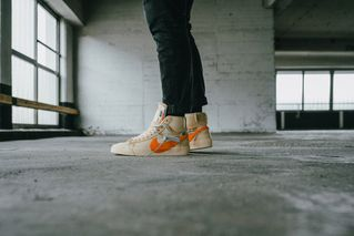"209f0cacf76f0 Slam Jam Socialism is Restocking the OFF-WHITE x Nike Blazer ""Spooky Pack"""