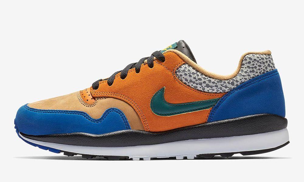 sale retailer 21b0f 7b509 Nike Adds a Blue Twist to the atmos-Inspired Air Safari