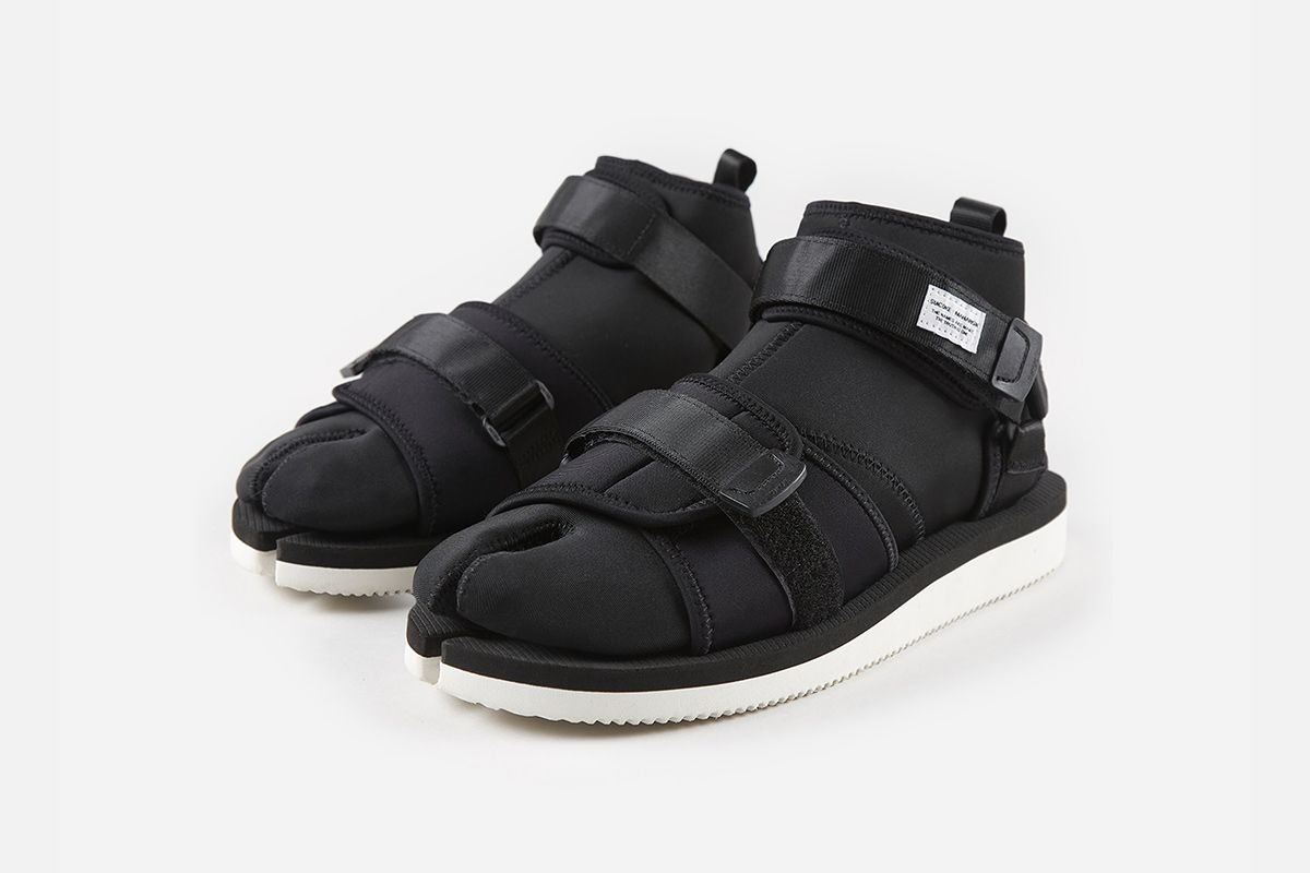 <div>maharishi & Suicoke Unveil an Ultra-Functional Tabi-Toe Sandal</div> 2
