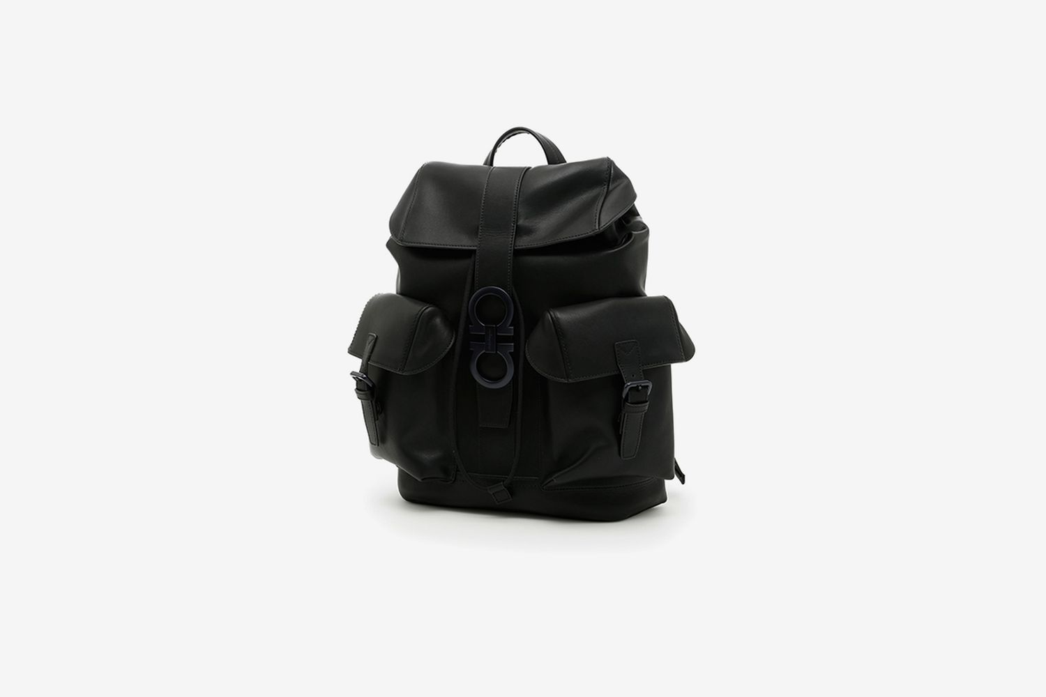 Techno Leather Gancio Backpack