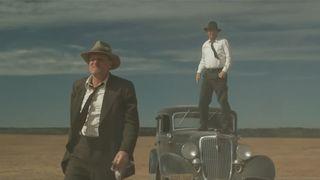 the highwaymen trailer Woody Harrelson kevin costner netflix