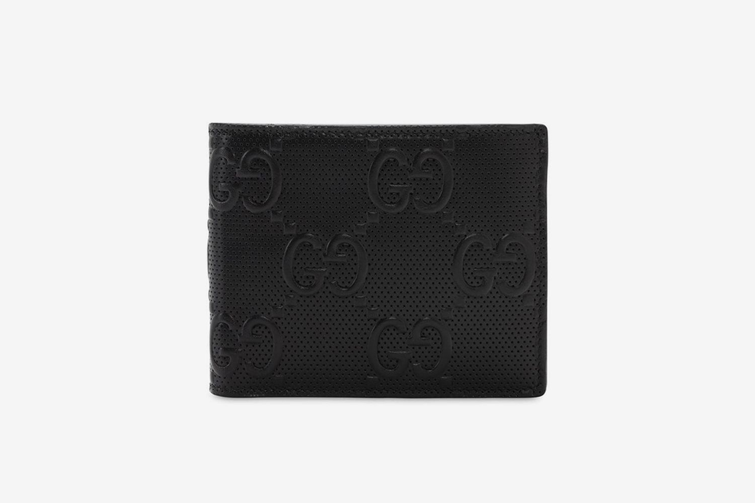 GG Debossed Leather Wallet