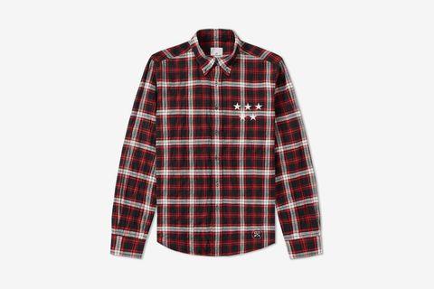 Wrinkled Check Shirt