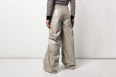 Oversized Large Eyelet Trousers
