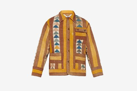 Flying Geese Quilted Jacket