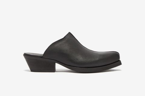 Western Leather Mules