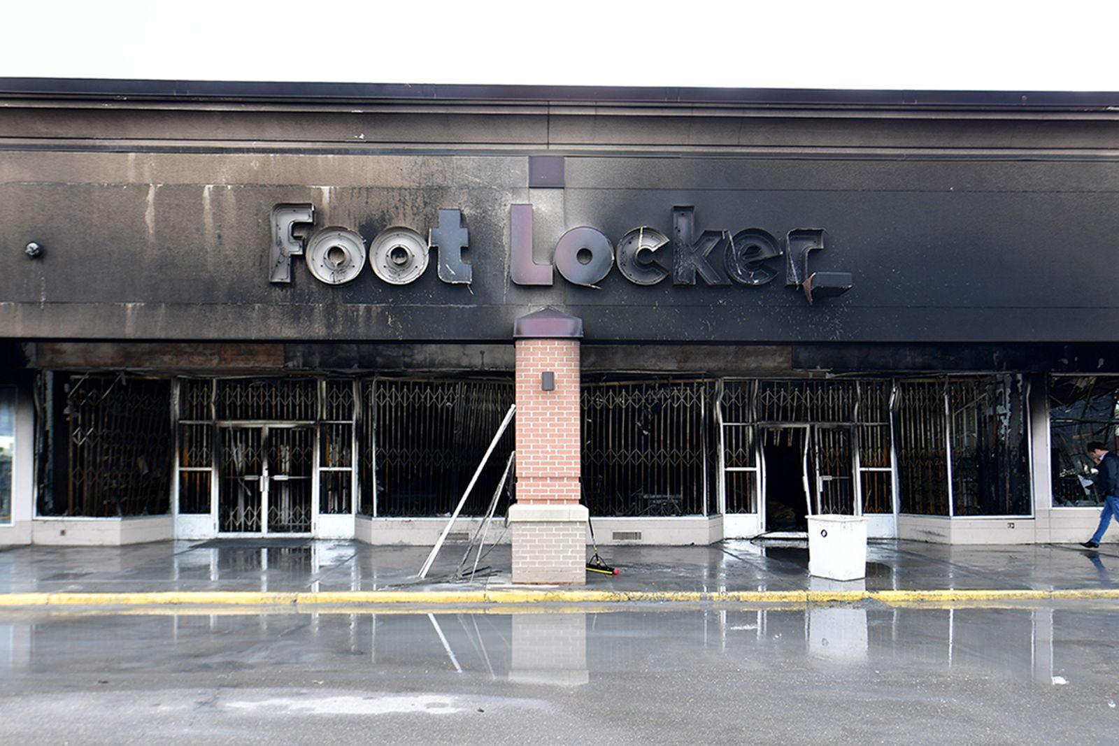 burnt footlocker store front