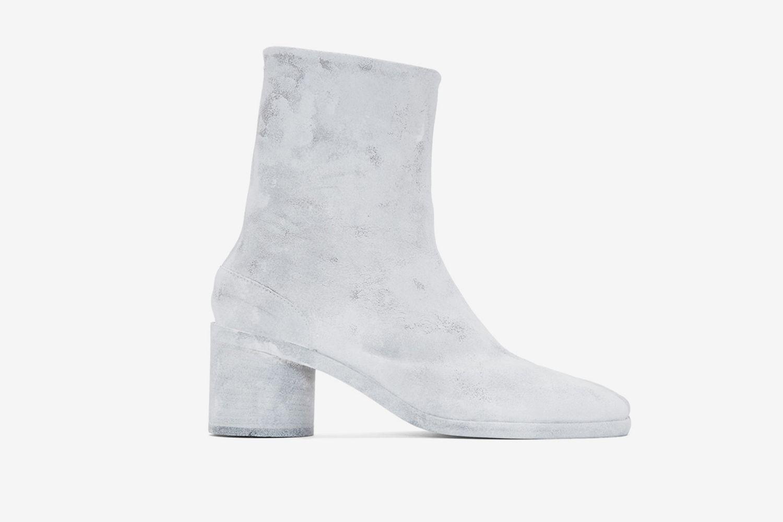 White Bianchetto Tabi Boots