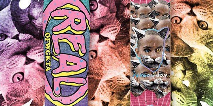 29cc0f2b1 Chima Ferguson and Odd Future collaborate with Real Skateboards    Highsnobiety