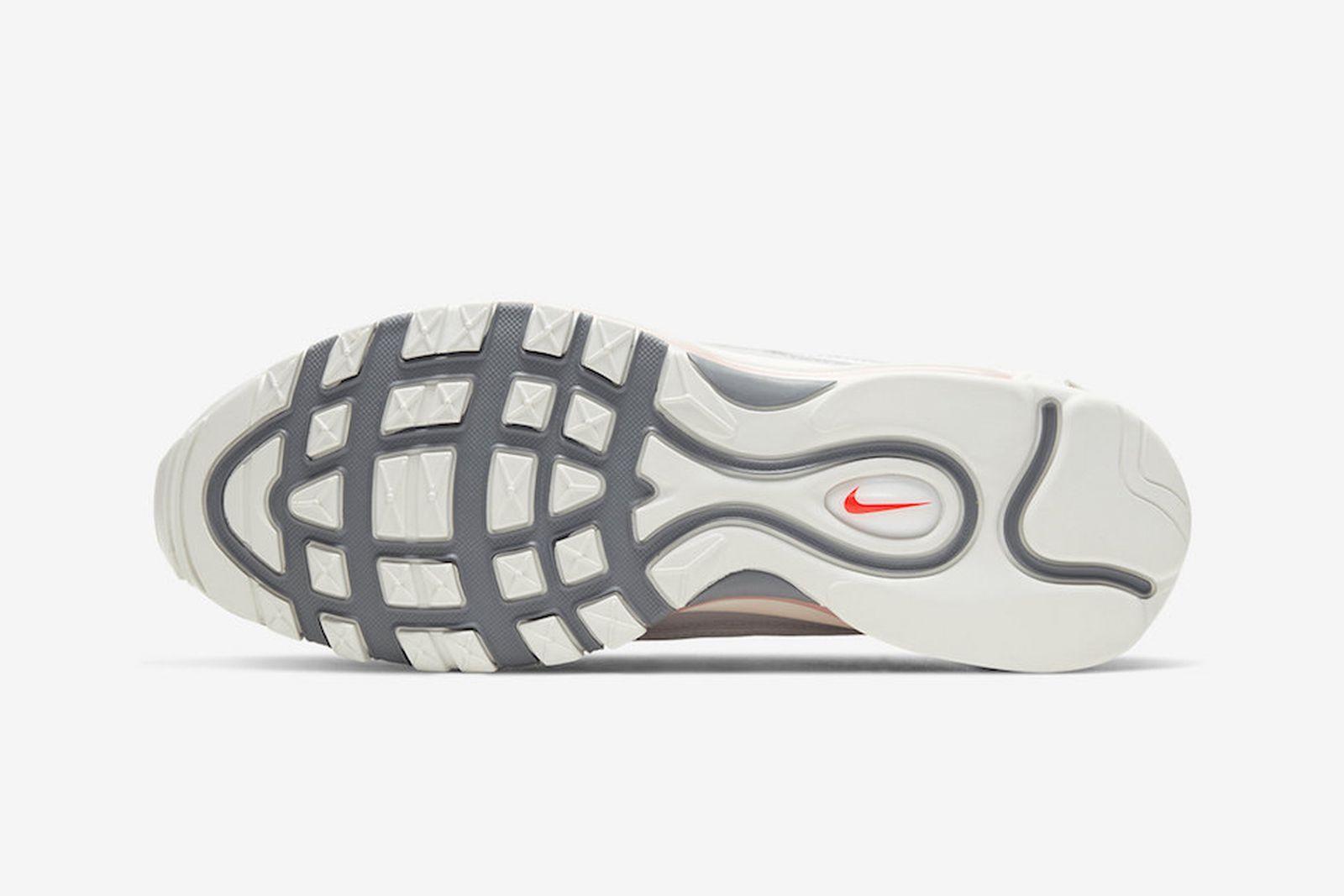 Nike Air Max 98 Grey, Sail, Habanero Red