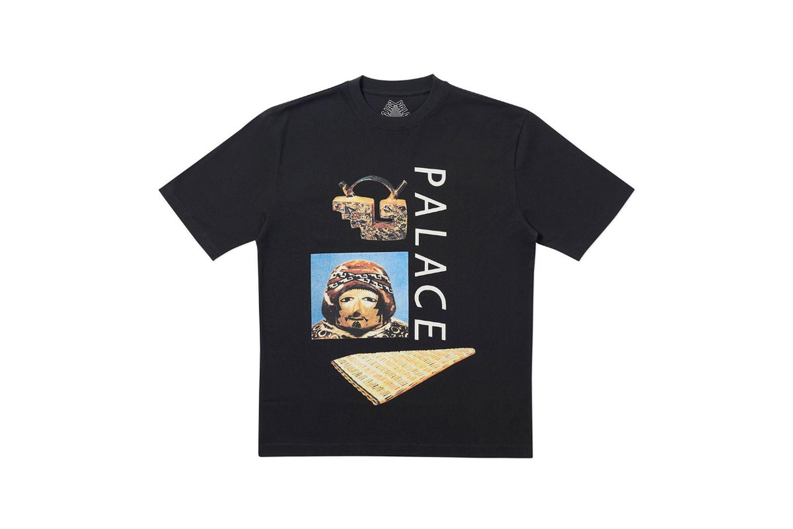 Palace 2019 Autumn T Shirt Tactic black