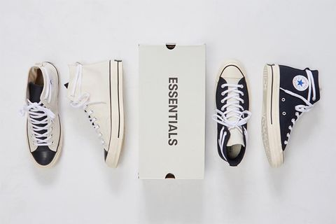 best sneakers ae8e4 c03e1 Here s How to Cop the Fear of God ESSENTIALS x Converse Chuck Taylor