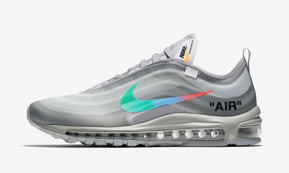 quality design a5a73 90ec2 OFF-WHITE x Nike Air Max 97 Black & Menta: Sold Out Everywhere