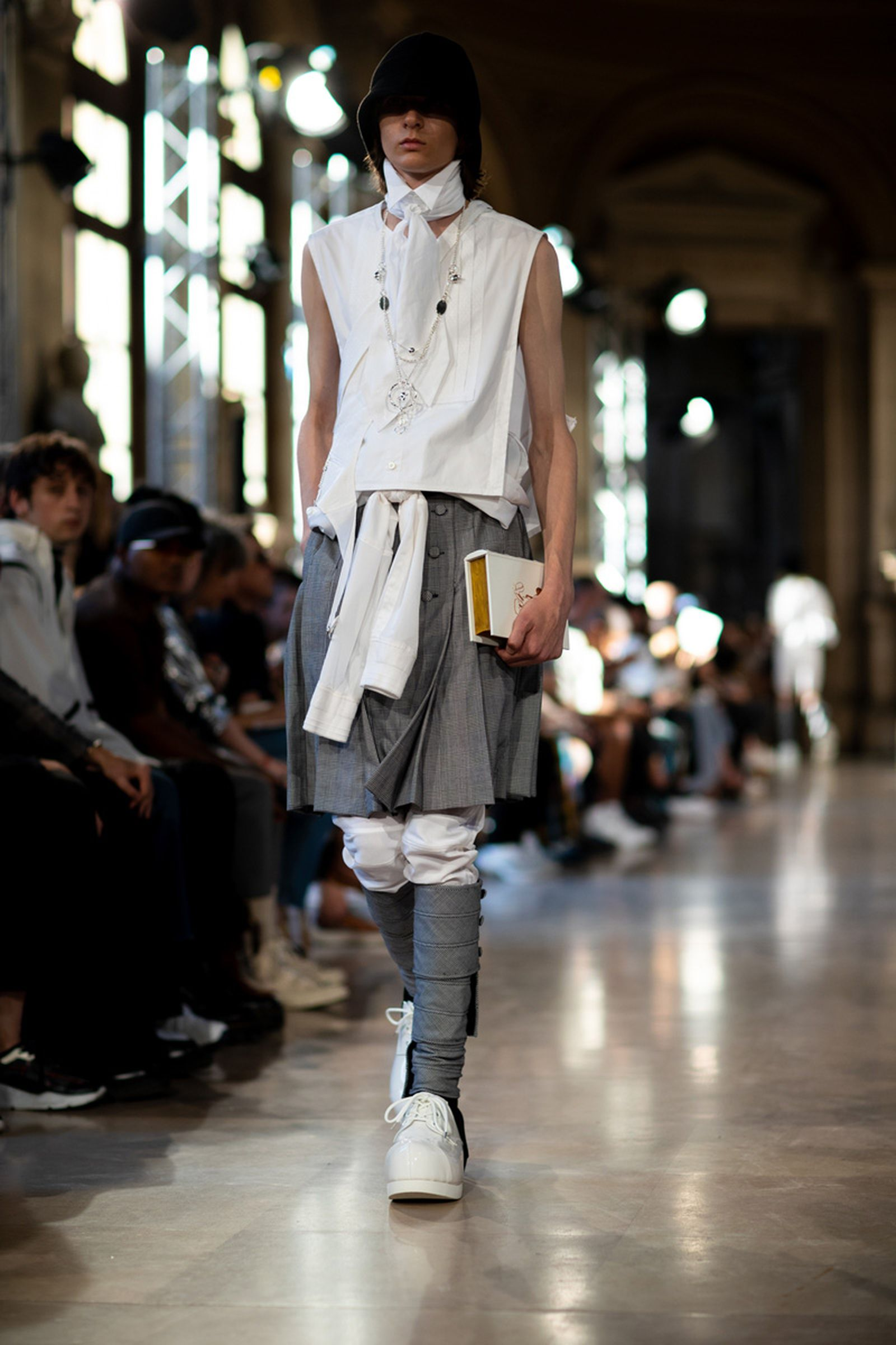 takahiromiyashitathesoloist reimagines uniforms reveals more converse collabs for ss20 TAKAHIROMIYASHITA The Soloist Takahiro Miyashita fashion shows