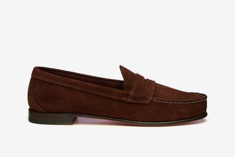 Clark Suede Loafers