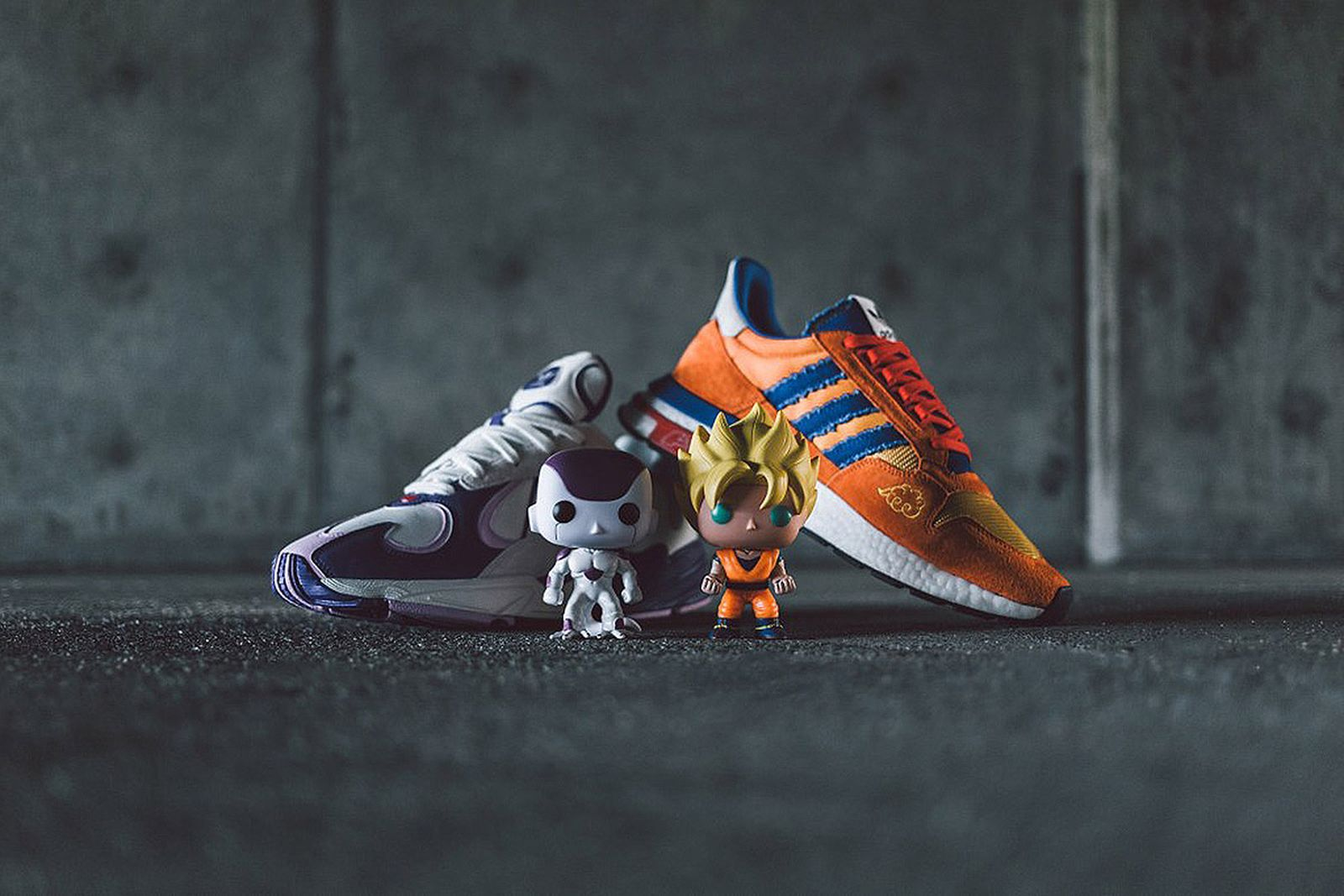 dragon ball z adidas special packaging complete