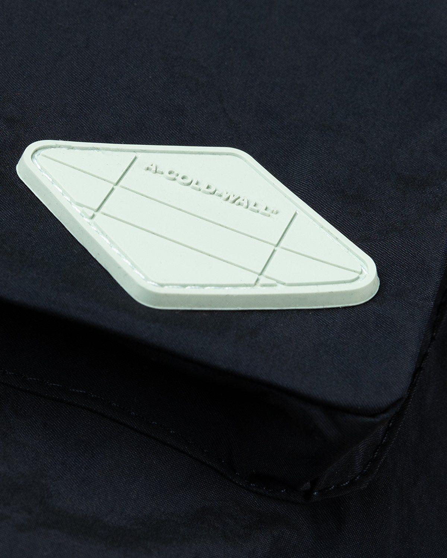 A-COLD-WALL* – Cuban Collar Shirt Navy - Image 5