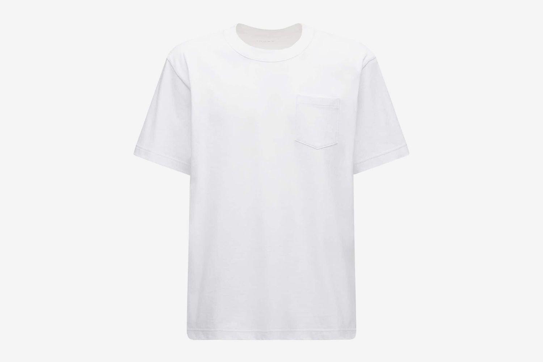 Logo Print Cotton Jersey T-shirt W/ Zip