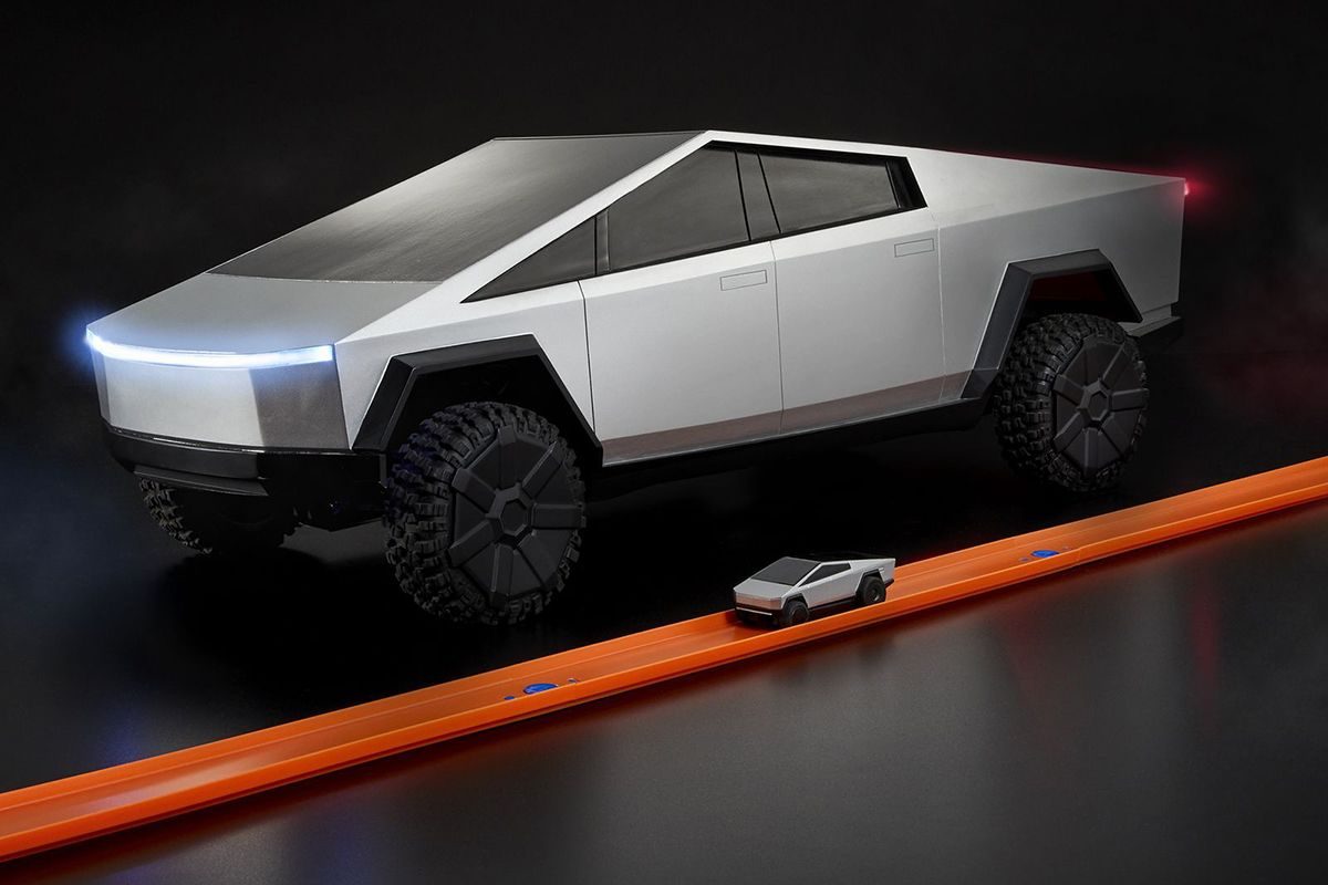 Hot Wheels Tesla Cybertruck
