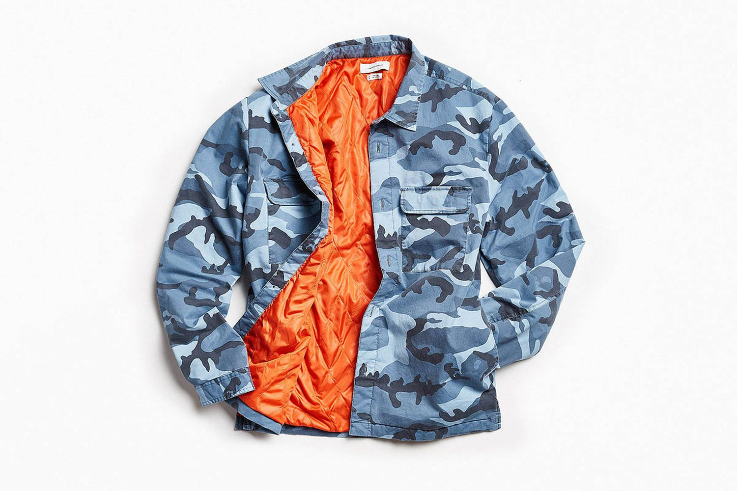Quilted Camo Over Shirt