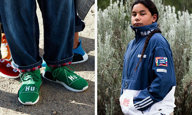 Pharrell Williams & adidas Unveil Colorful