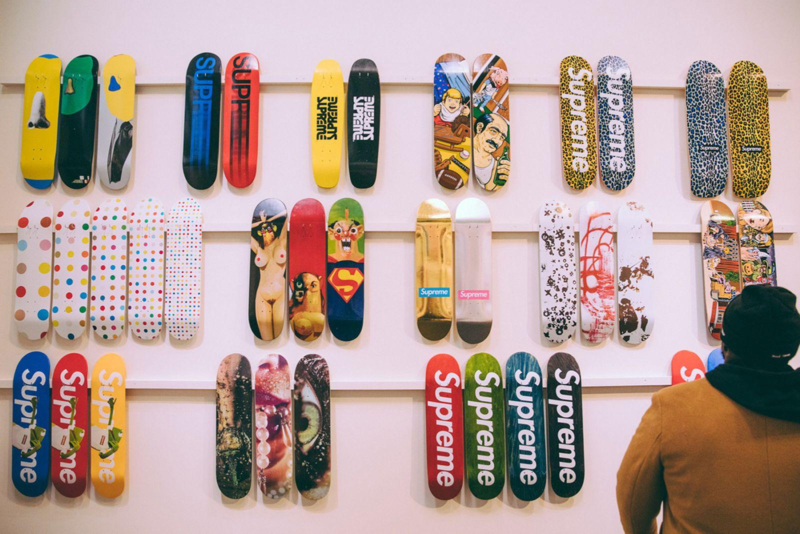 supreme skate deck collection sold 800k