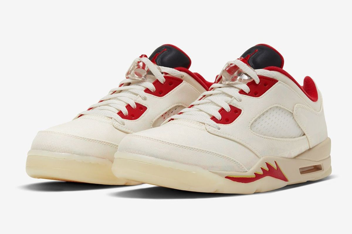 """The Air Jordan 5 Low """"Chinese New Year"""" Gets Better With Time 3"""