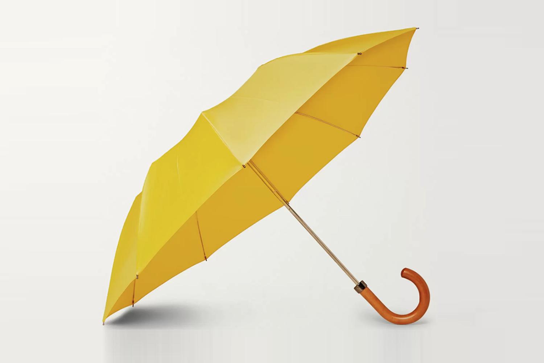 Maple Wood-Handle Umbrella