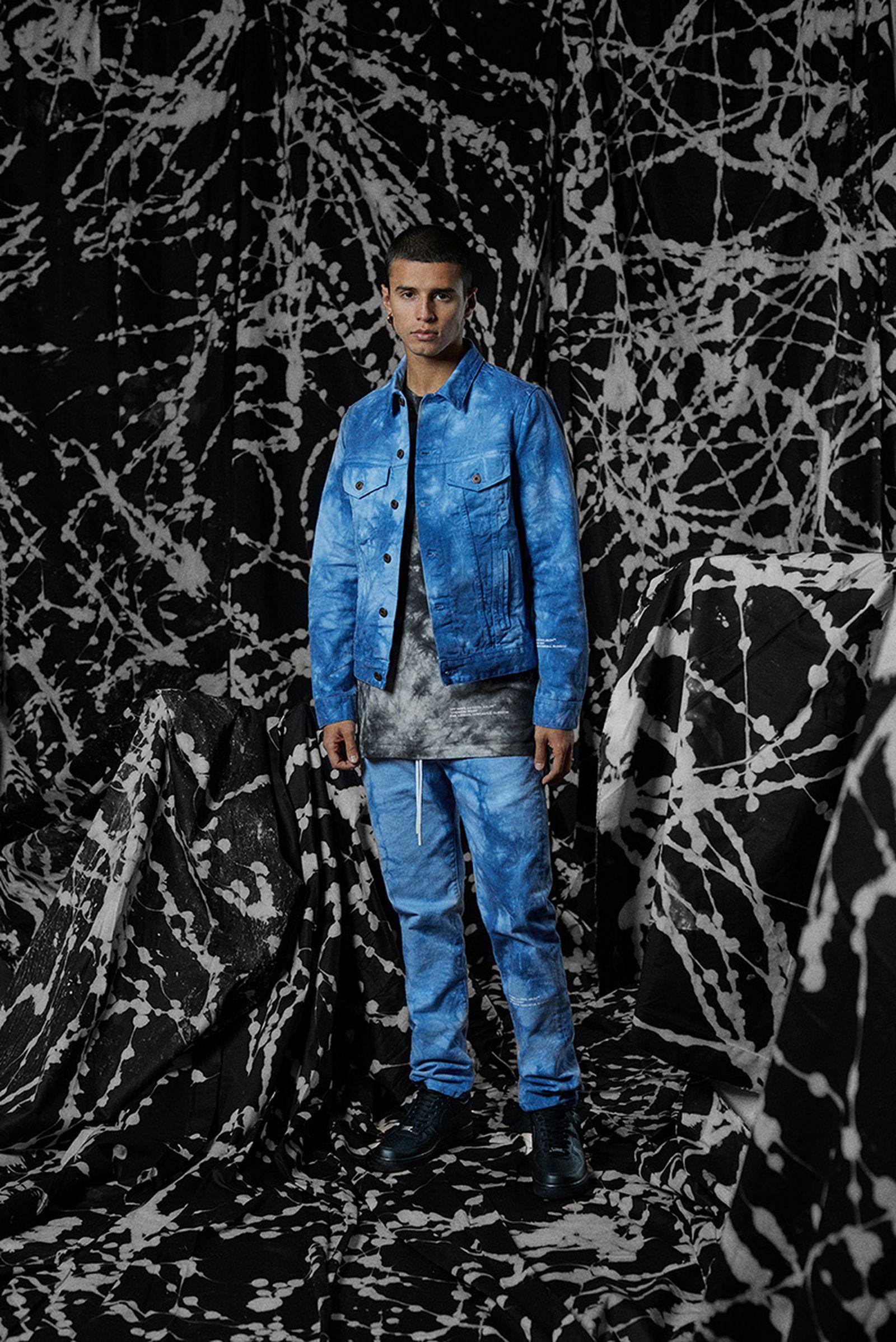 Off-White END denim jacket jeans