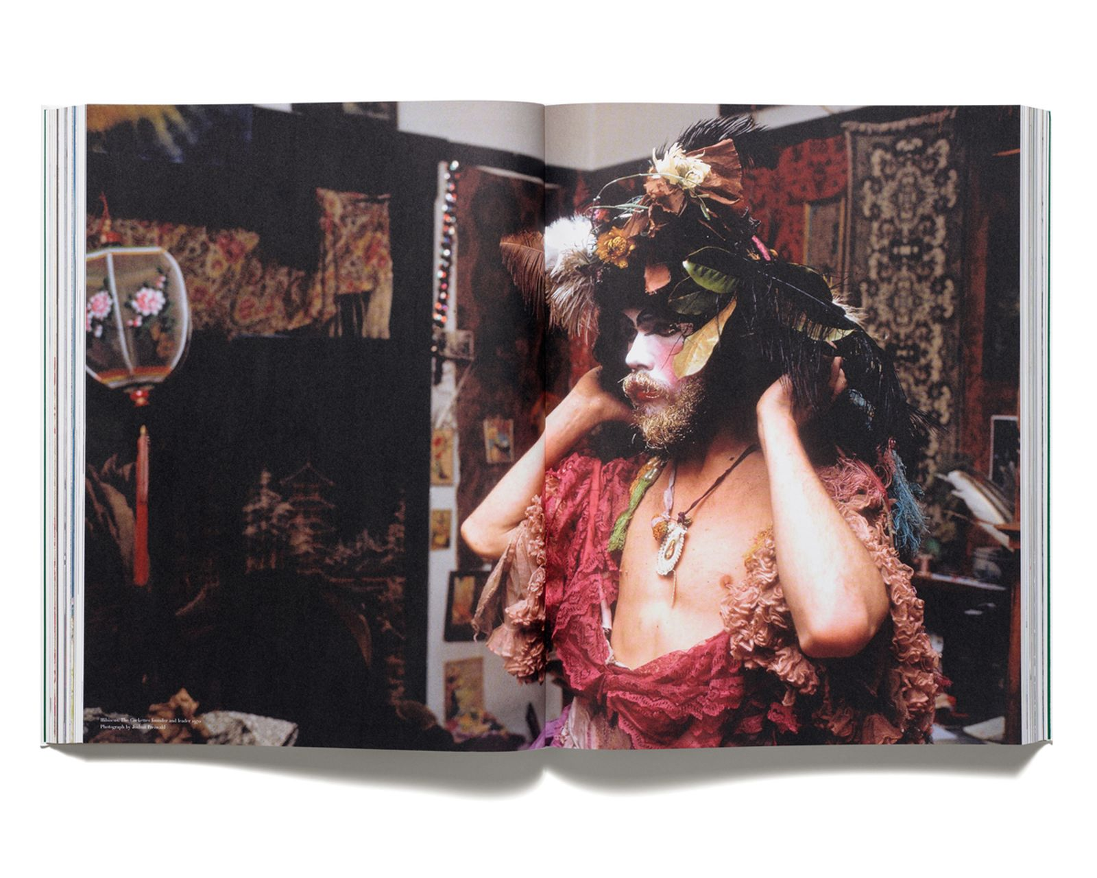 BEARDED LADIES - Hibiscus of The Cockettes photographed by Joshua Freiwald in 1970. From 'Acne Paper' issue 6, 2008.