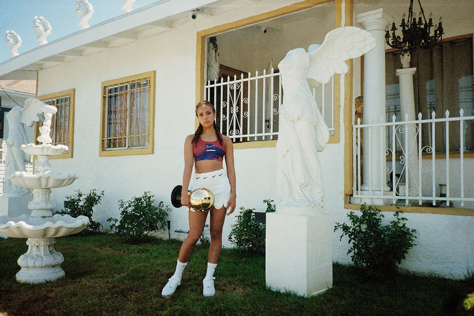 nike football jersey collaborations Christelle Kocher Marine Serre Yoon Ahn