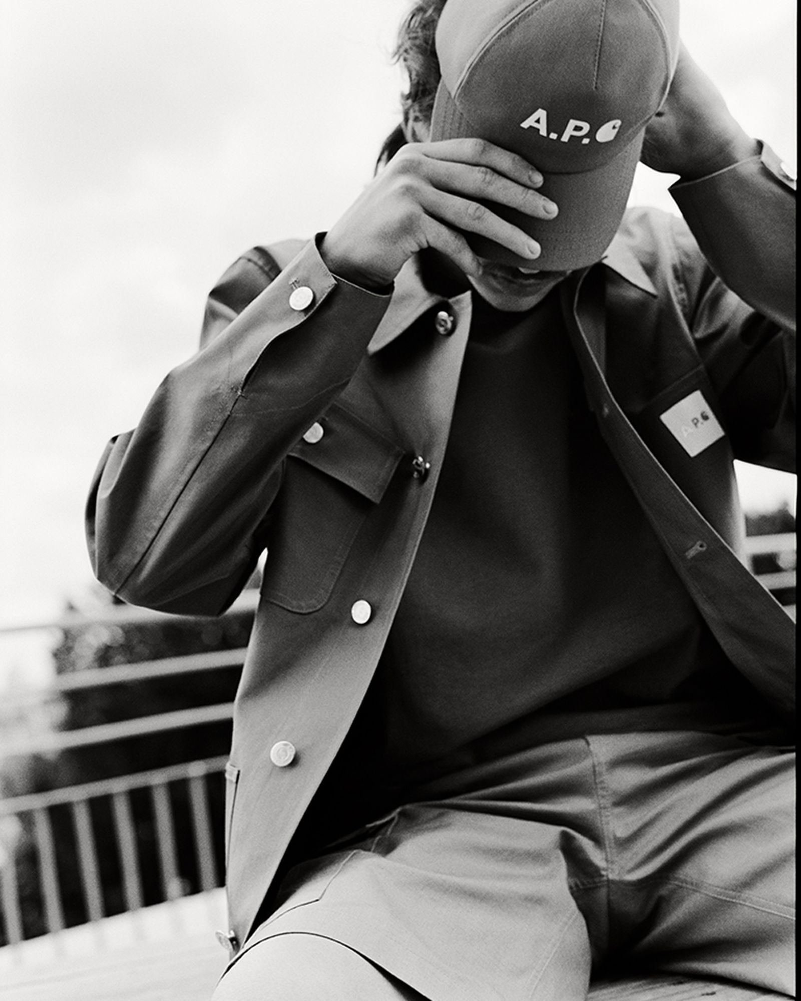 A.P.C. x Carhartt WIP Chore Jacket and Cap