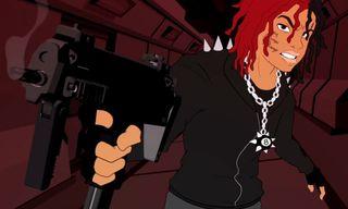 "Trippie Redd Teams up With Kodie Shane in Anime-Inspired ""Love & Drugz II"" Video"