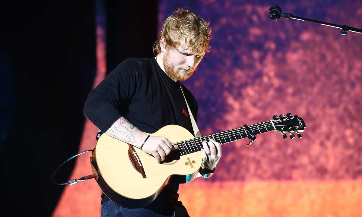 """Ed Sheeran Celebrates the End of His """"Divide"""" Tour With a Custom $4,000 Tudor Watch"""