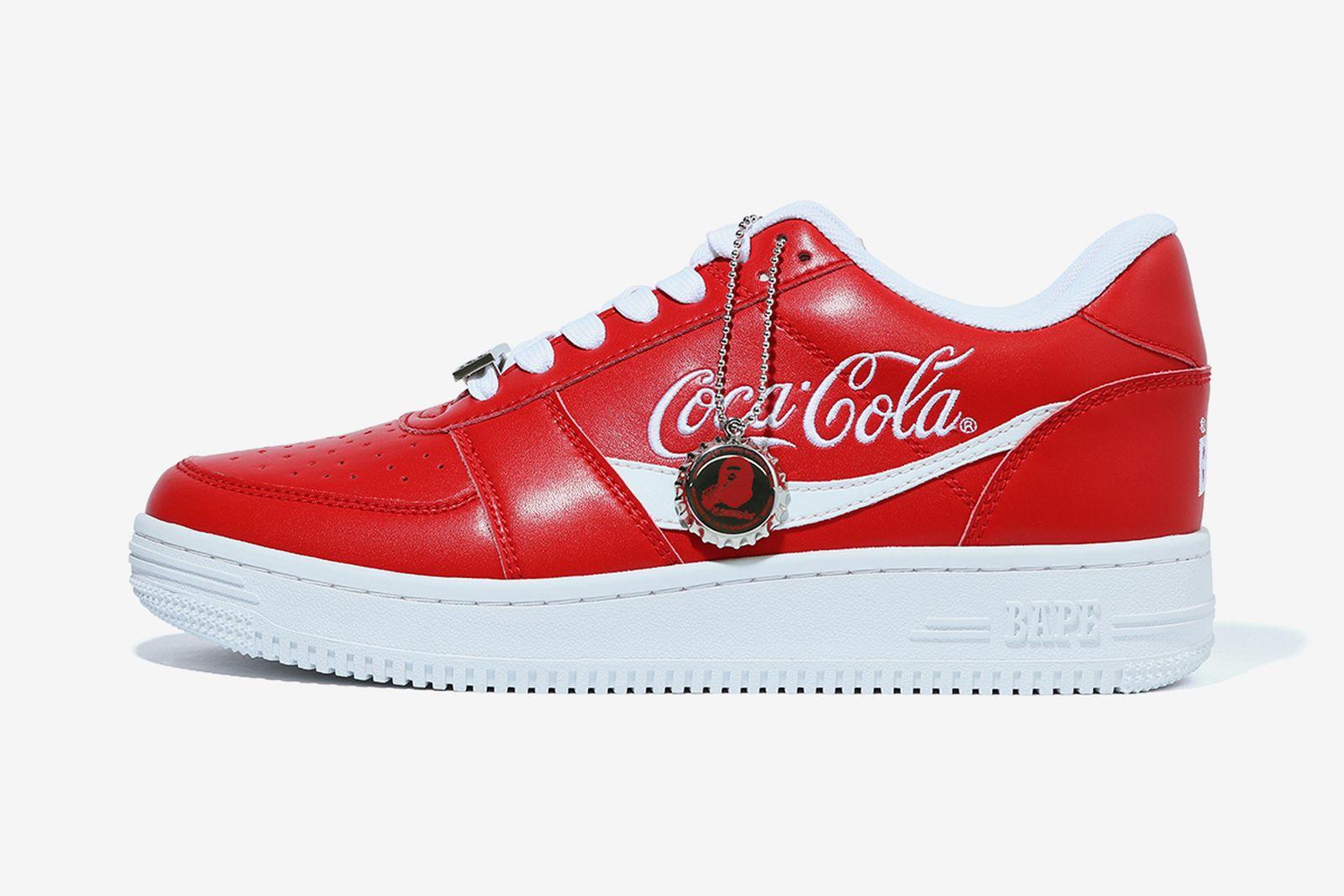 bapesta coca-cola red product shot