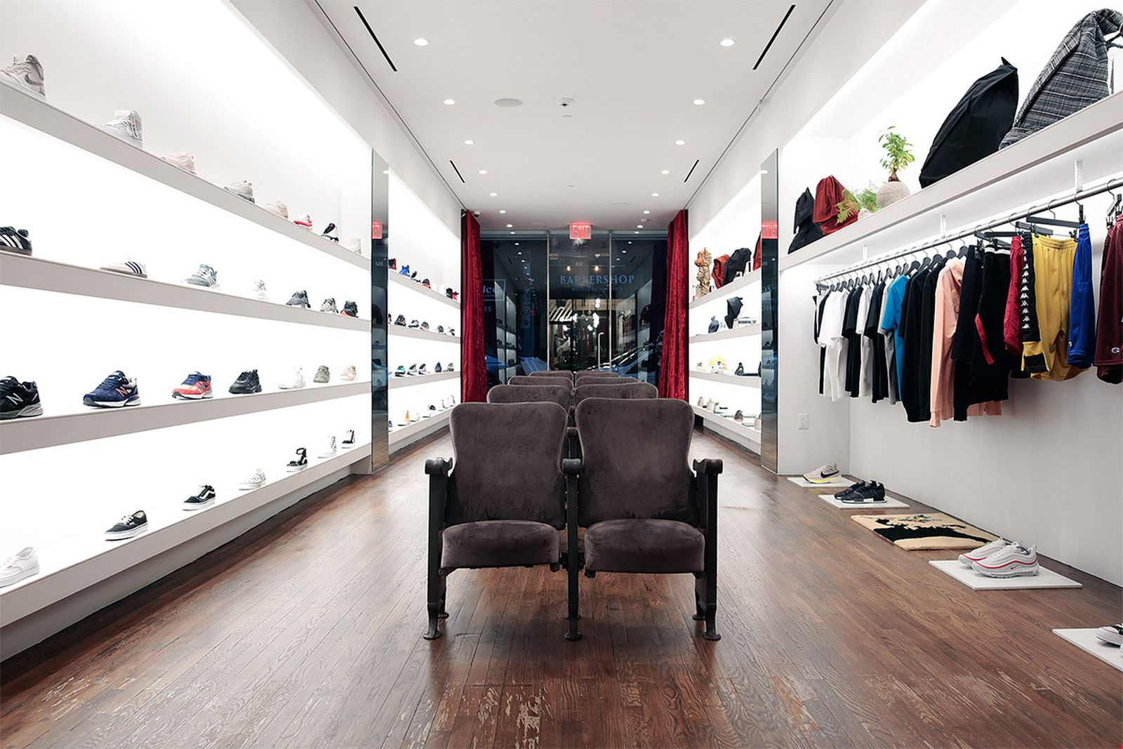 best new york sneaker stores extra butter AMEX american express platinum