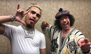 Lil Pump Talks Getting Kicked out of School with Nardwuar