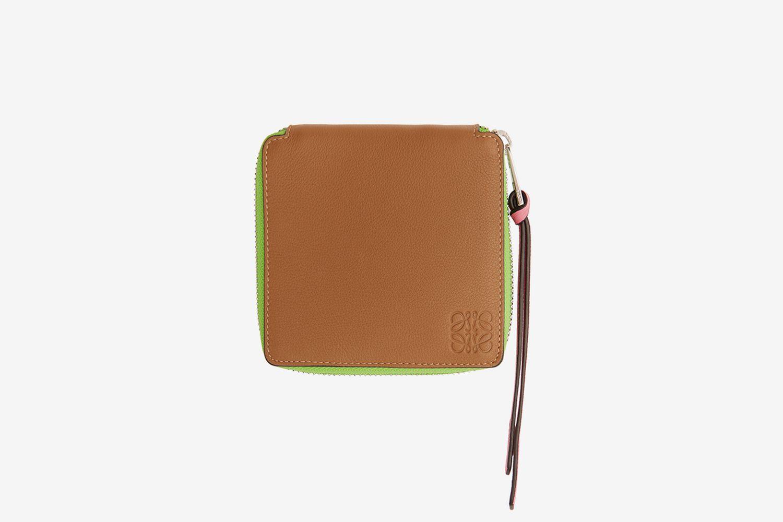 Rainbow Square Zip Bifold Wallet