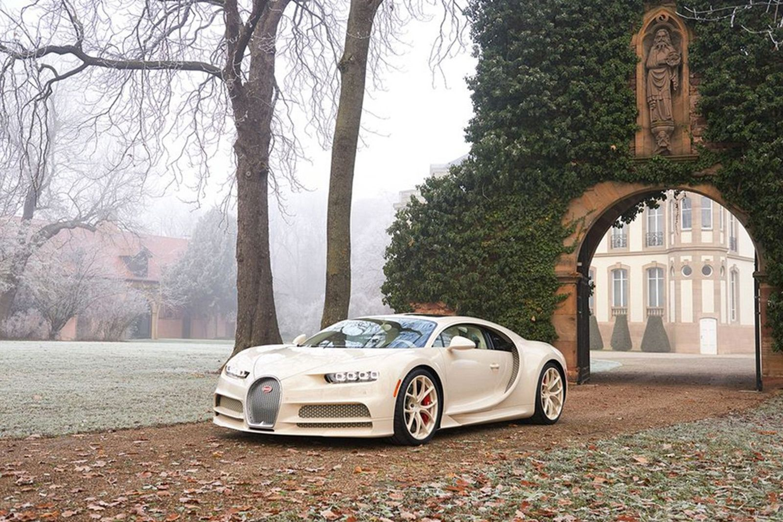 This One-Off Bugatti Chiron Hermès Is Truly a Work of Art