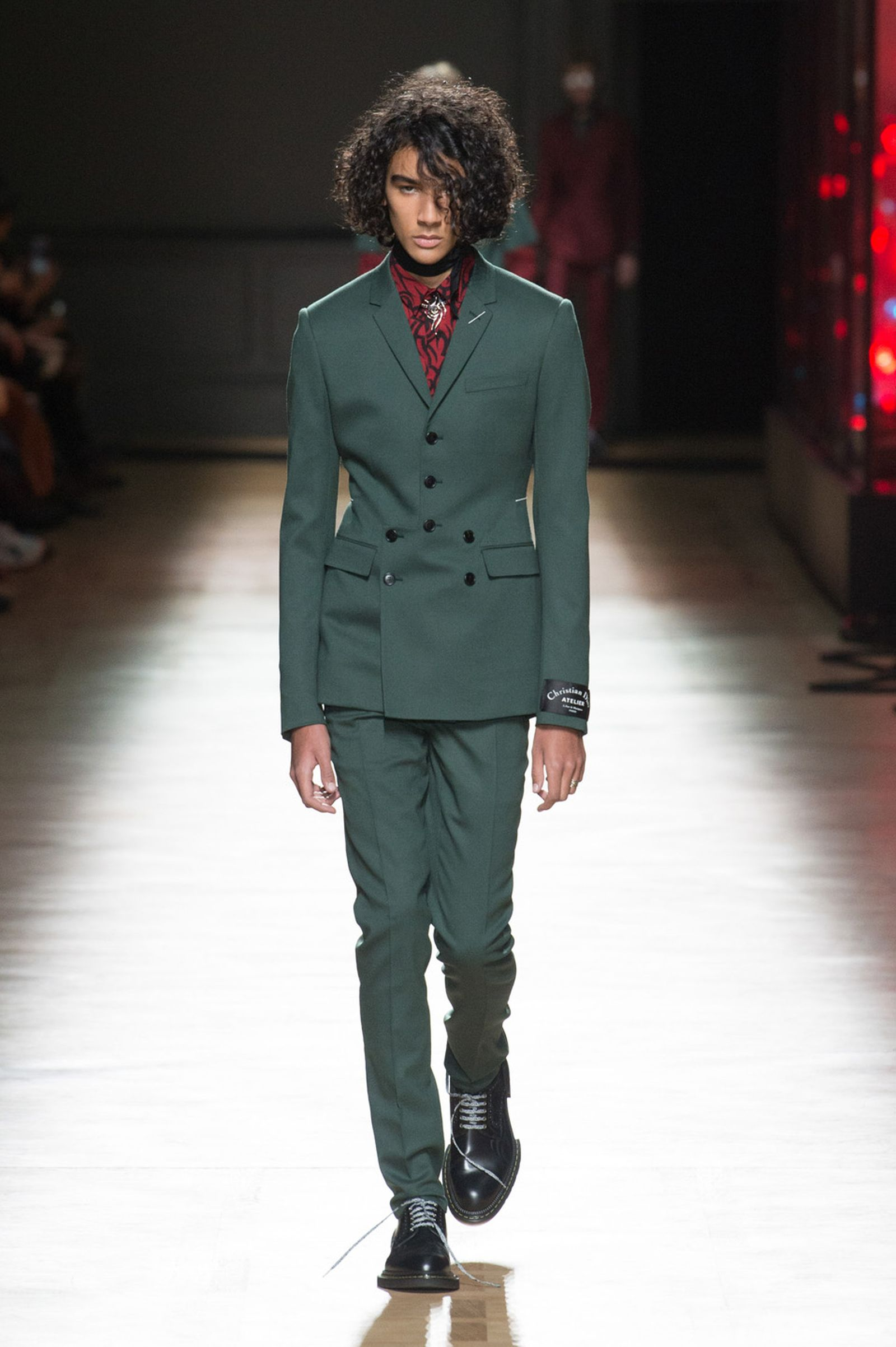 DIOR HOMME WINTER 18 19 BY PATRICE STABLE look26 Fall/WInter 2018 runway