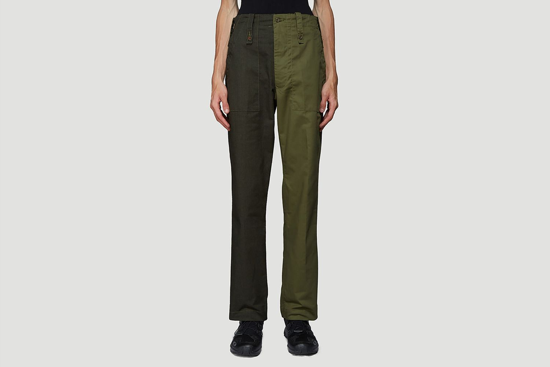 Two-Tone Split Trousers